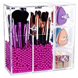 Lifewit Organizer con Cassetti per Cosmetici Beauty Case All in One per Pennelli Rossetti Cipria Smalti con Coperchio immagine
