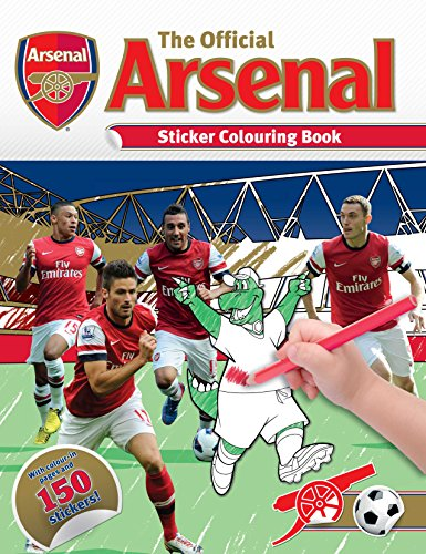 The Official Arsenal Sticker Colouring Book