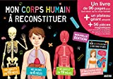 Mon corps humain à reconstituer : Contient : 1 livre, un plateau géant, 56 pièces magnétiques