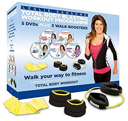 Leslie Sansone: Total Body Blasting Workout Programme [5 DVDs] [UK Import] -