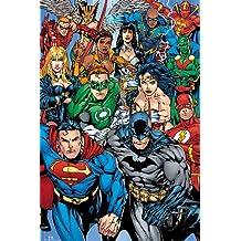 Poster Super-héros DC Comics Collage (61cm x 91,5cm)