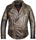 MDM Motorrad Designer Lederjacke mit Protektoren (XL)