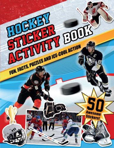 Hockey Sticker Activity Book por Bill Bernardi