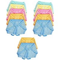 PEUBUD ® Reusable Washable Cotton Hosiery Plain Cloth Nadi Diaper/Nappies/Langot/Nappy for Newborn Baby (6-9 Months…