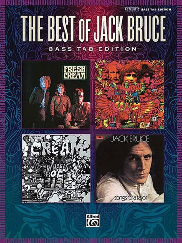 Jack Bruce: Best Of Bass (TAB) (Authentic Bass