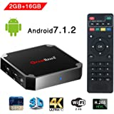 X96 Mini Smart TV Box Android 7.1, Wingogo 2GB 16GB Amlogic Quad Core 2.4Ghz WiFi 4K Smart Set Top Box