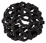 Copri-chignon a rete per danza classica, con elastico, in nero Per una perfetta tenuta dello chignon della ballerina e come grazioso complemento ad ogni outfit da danza.