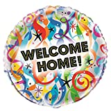 Unique Party Supplies 45,7 cm Folie Bright Welcome Home Ballon
