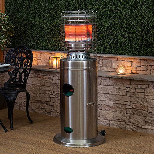 Fire Mountain Stainless Steel Bullet Gas Patio Heater