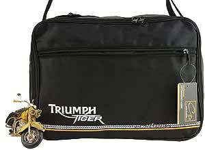 Made4bikers Koffer Innentaschen Passend Für Triumph Tiger 800 800xc Xc Explorer Kofferinnentaschen Schwarz Grau Auto