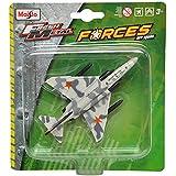 Maisto F-4 Phantom Ii Aeroplane Die Cast Toy Model (White & Grey)