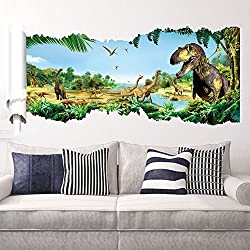 Ryuan Dinosaur Wall Decor Sticker Children s Wall Decal Decorative 35 *20