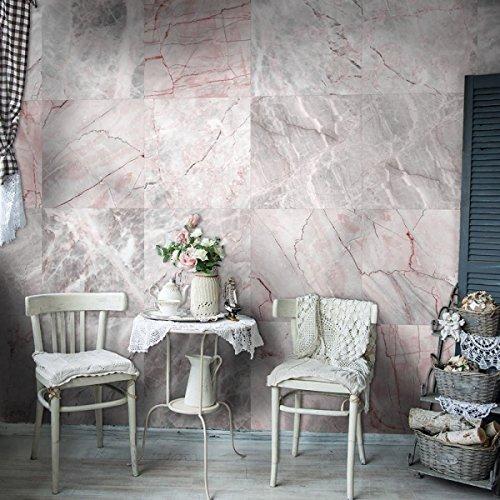 Papier Hintergrund Marmor, (Drachen XIAOLONG Deutschland Importierte Tapete Nordic Hintergrund Wand Rosa Marmor Tapete,01-5.0m2/volume)