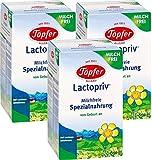 Töpfer Lactopriv, Milchfreie Spezialnahrung, von Geburt an, 3er Pack (3 x 600g)