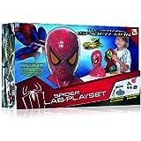 Imc Toys 43-550650- Spiderman Laboratorio Playset 24 Experimentos