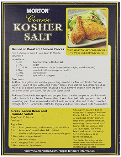 Morton Coarse Kosher Salt 1 36kg at Shop Ireland