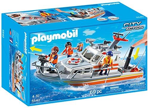 Playmobil Guardacostas - Barco de...