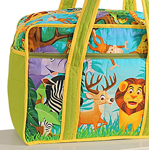 Yuga See Geschöpfe druckte wasserdichte Baby/Mädchen Kinderzimmer Reise Einkaufstasche Für Mütter Mehrfarbig-1