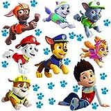 Unbekannt große _ Wandsticker -  Paw Patrol - Hunde  - selbstklebend + wiederverwendbar + wasserfest - Aufkleber für Kinderzimmer - Wandtattoo / Sticker Kinder - Hund..