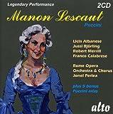 Puccini : Manon Lescaut. Bjorling, Albanese, Perlea.