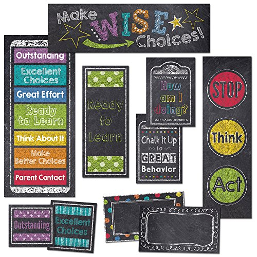 Creative Lehre Press Mini Bulletin Board, Verhalten Clip Diagramm (6960) (Kreide Board Und Bulletin Board)