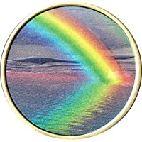 Serenity Peace innerhalb der Sturm Farbe Rainbow Bronze Medaillon Chip preisvergleich bei billige-tabletten.eu