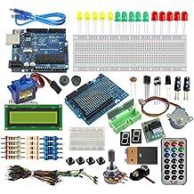 [Sintron] Arduino Uno R3 Board Starter Kit ,Tutorial en español , LCD Servo Motor Sensor Module !!
