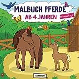 Malbuch Pferde ab 4 Jahren: Die schönsten Pferde, Fohlen und Ponys zum kreativen Ausmalen (2. Auflage)