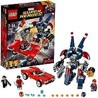Lego Marvel Super Heroes - Iron Man : L'attaque de Detroit Steel - 76077 - Jeu de Construction