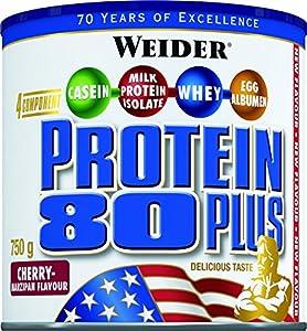Weider 80 Plus Protein, Kirsch-Marzipan (1 x 750 g)