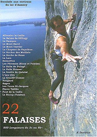 22 Falaises de la région d'Annecy