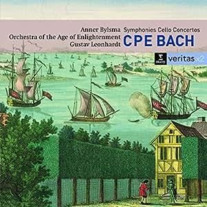 C.P.E Bach : Symphonies, Concertos pour violoncelle