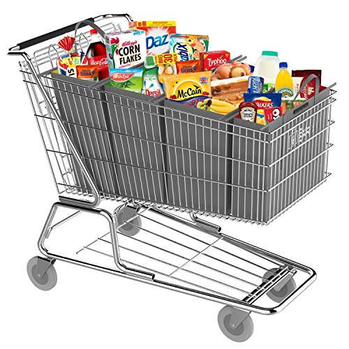 The Really Clever shopping trolley Bags UK-supermercato trolley Bags-Nuova e