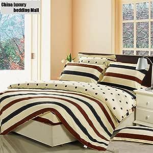 Double King Super King Size Drap Housse Draps De Lit 100/% Poly Coton Simple 4 ft environ 1.22 m