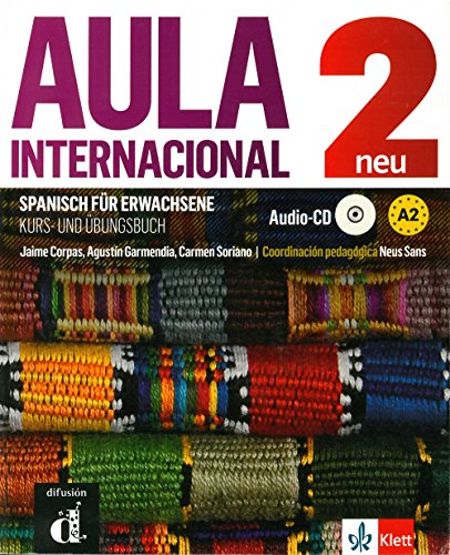 Aula internacional nueva edición 2: Kurs- und Übungsbuch + MP3-CD