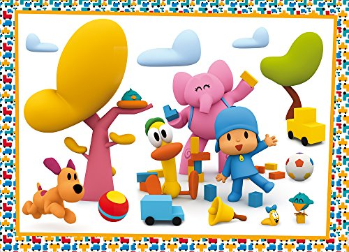 Pocoyo 65950 Puzzle Play with Us, Multi Colour, One Size