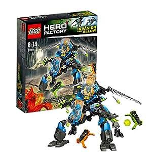 Lego hero factory 44028 jeu de construction le robot 2en1 de surge et rocka - Lego hero factory jeux ...