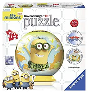 Ravensburger - Minions - 3D Puzzle-Ball (72 - Puzzleteile) [UK Import]