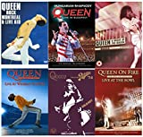Queen Rock Montreal & Live Aid (Two Disc Set) / Queen: Hungarian Rhapsody - Live In Budapest / Queen: A Night At The Odeon / Queen - The DVD Collection: Live At Wembley Stadium (Two Disc Set) / Live At The Rainbow / Queen: On Fire - Live At The Bowl by Queen