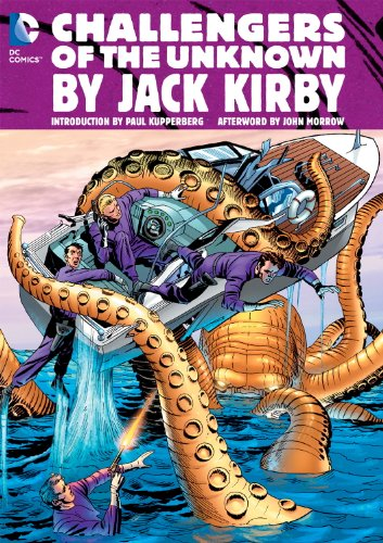 Challengers Of The Unknown Omnibus By Kirby HC por Dave Wood