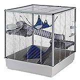 Ferplast Furet Ferret Cage, X-Large, 80 x 75 x 86.5 cm, Grey