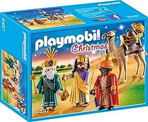 Playmobil- Reyes Magos Juguete, Multicolor,