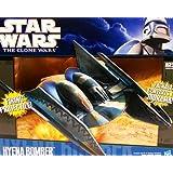 Hasbro Star Wars Naves Hyena Bomber - Nave espacial de juguete de La Guerra de las Galaxias