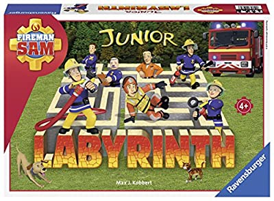 Ravensburger - 21282 - Labyrinthe Junior Sam Le Pompier