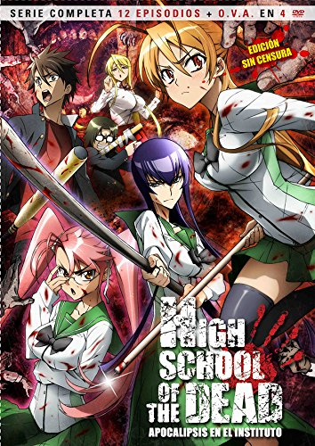 High School Of Dead (Import Dvd) (2012) Personajes Animados; Shizuca Marikawa; (School Dead High Of)