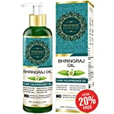 #9: Morpheme Remedies Pure ColdPressed Bhringraj Oil (No Mineral Oil & Sulphate), 120ml