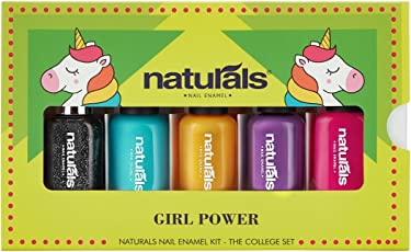 Natural's Girl's Nail Enamel Kit -Girl Power Cw1