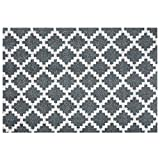 Zala Living Elegance Fußmatte, Polyamid, Grau Anthrazit, 150 x 50 x 0,7 cm