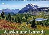 Alaska und Kanada (Wandkalender 2018 DIN A2 quer): Die unberührte Natur und Tierwelt in Kanada und Alaska (Monatskalender, 14 Seiten ) (CALVENDO Orte) [Kalender] [Apr 01, 2017] Stanzer, Elisabeth