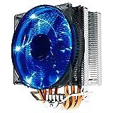 PANGUN Pccooler Donghai x4 4 Pin 4 Wärme Rohre Blau LED CPU Kühler Kühlfan Für Intel AMD